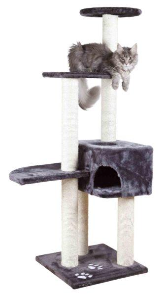 Piętrowy drapak dla kota